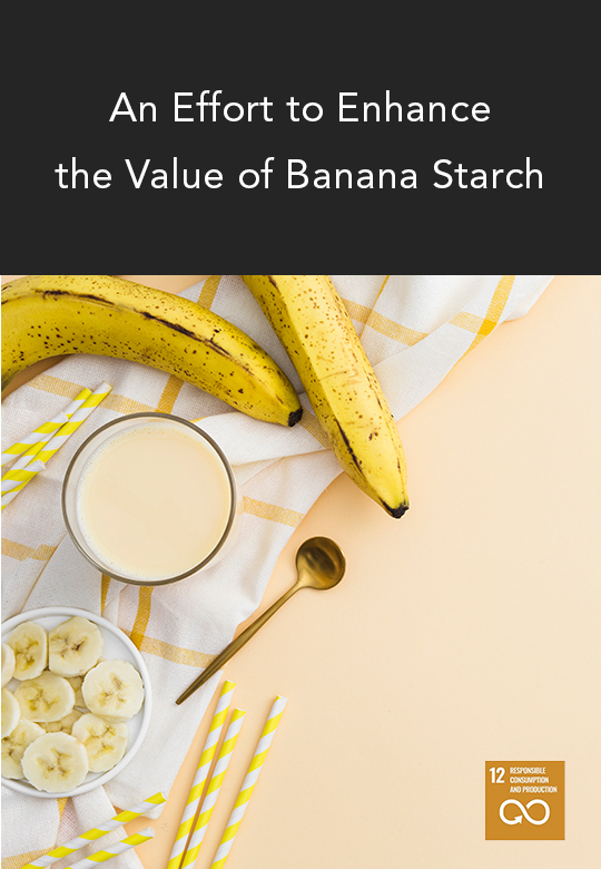 Heat Treatment Improves Properties of Banana Starch