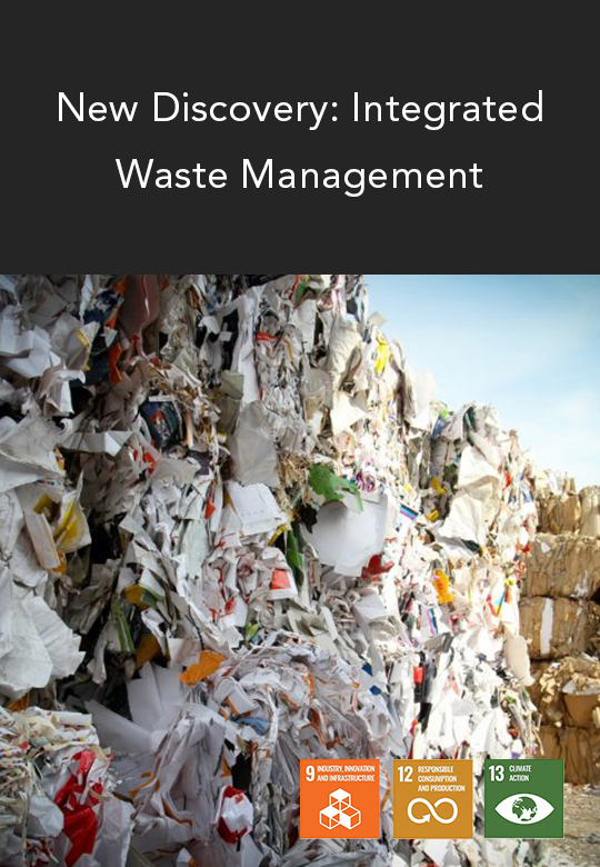 Potential GHG Emissions Reduction via Integrated Waste Management System