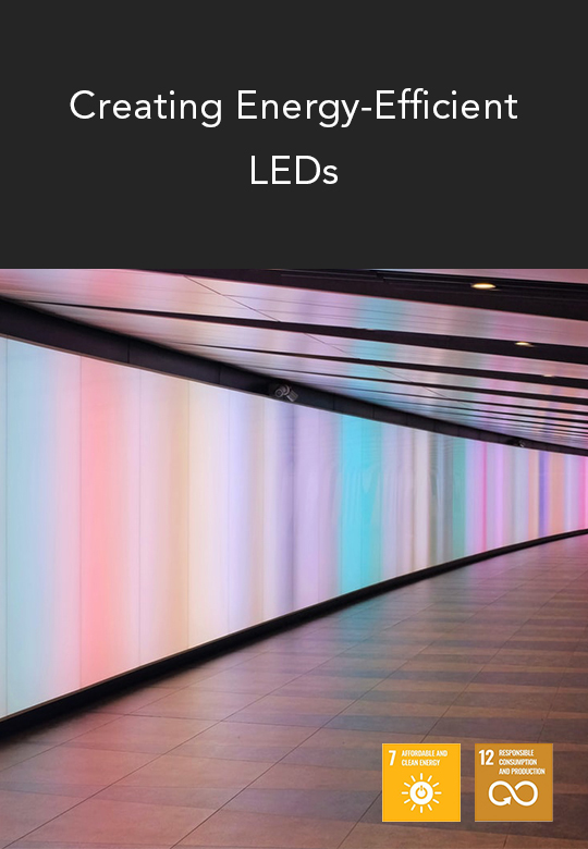 Creating Energy Efficient LEDs